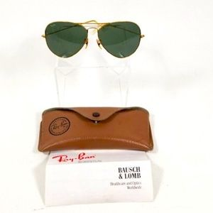 BAUSCH AND LOMB RAY BAN AVIATORS